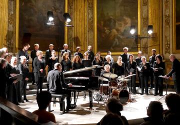 2016_Archipels, l'atelier vocal des éléments interprète LUNES de Guillaume de Chassy