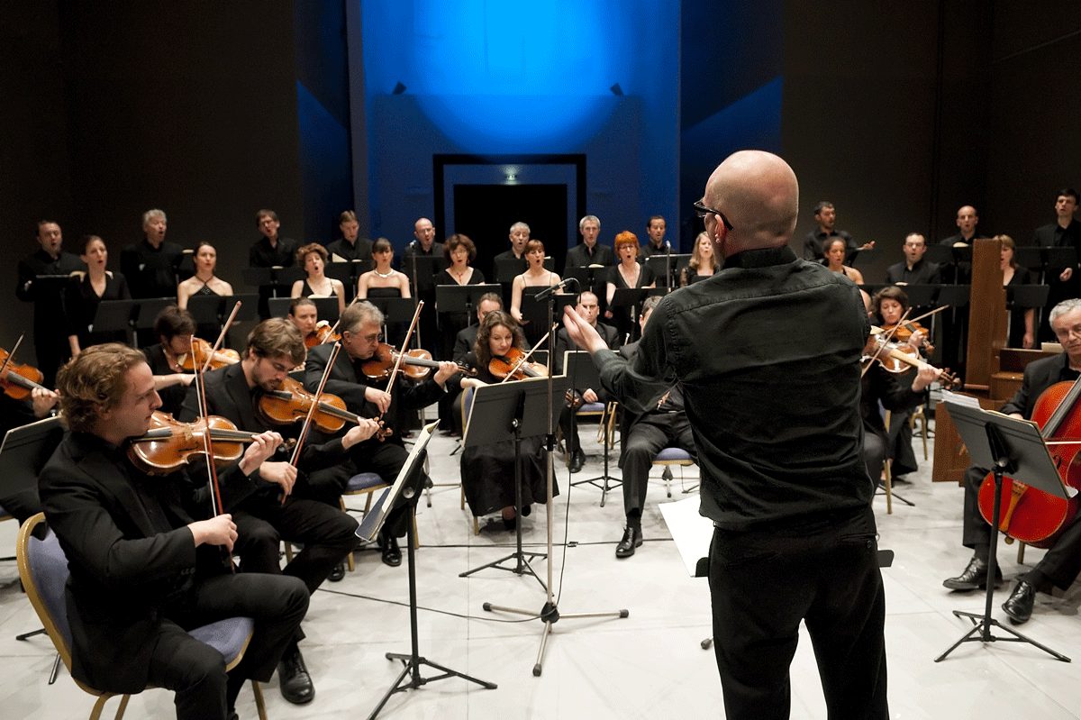 Les éléments et l'Orchestre de Chambre de Toulouse - dir Joël Suhubiette © Passerini