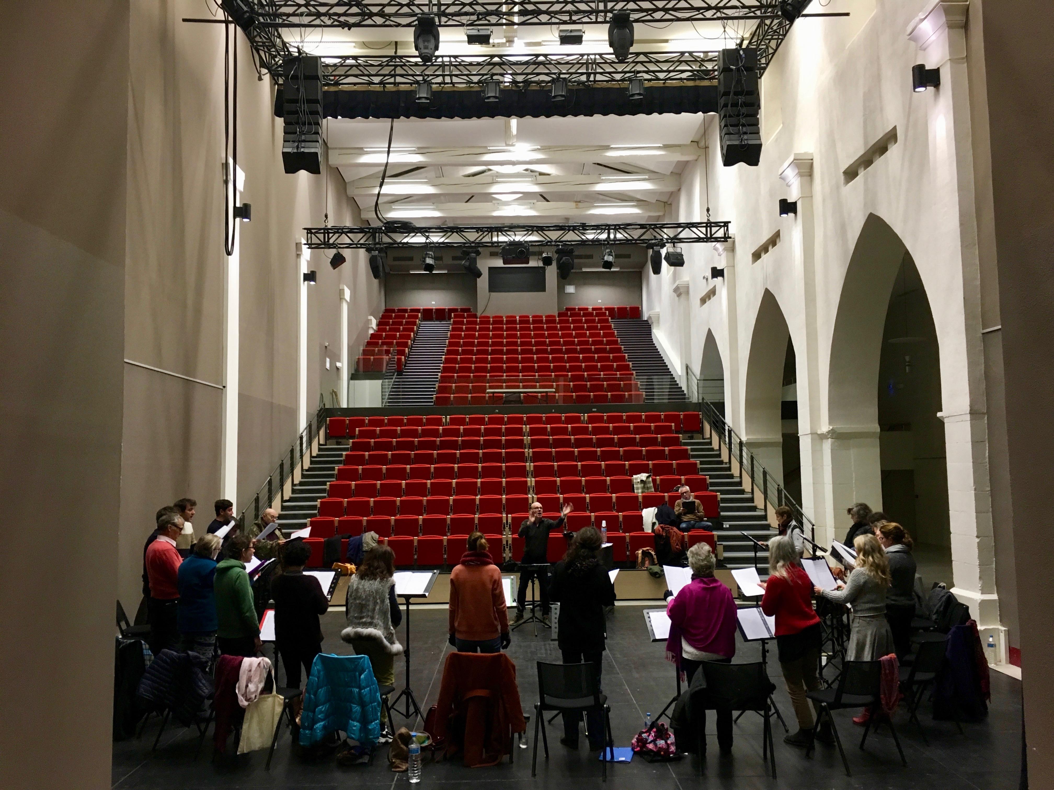 Stage ARPA avec Joël Suhubiette à l'Abbaye-école de Sorèze - 2019