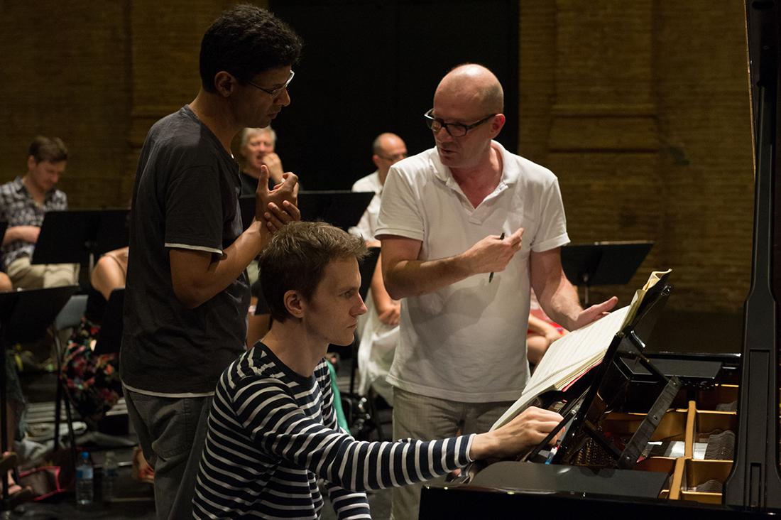 Joël Suhubiette avec Alexandre Tharaud et Thierry Pécou