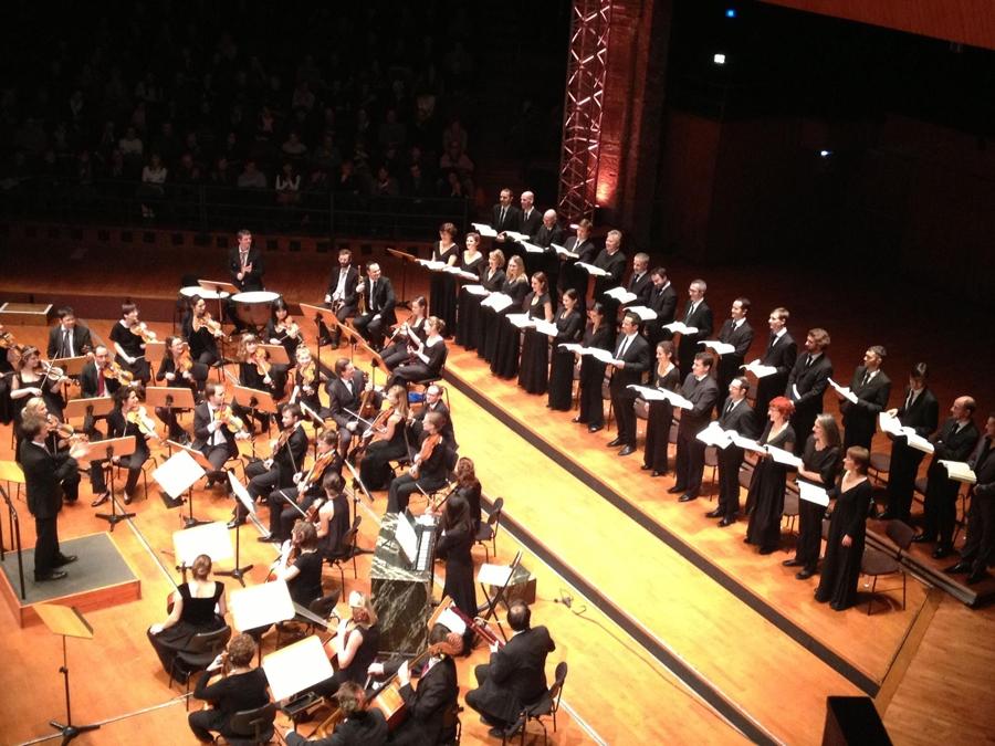 Les éléments & Ensemble Matheus / 2012, Halle aux Grains, Toulouse