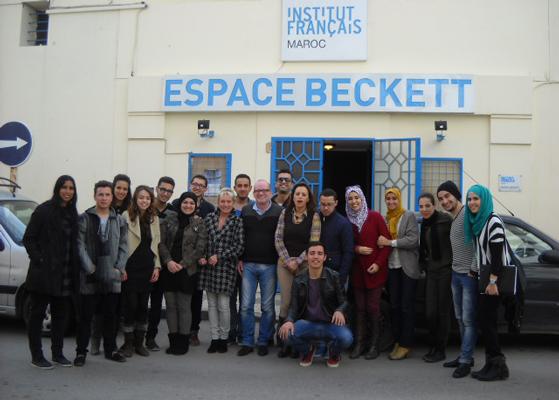 Master Class de Joël Suhubiette à Tanger (Maroc) 2014