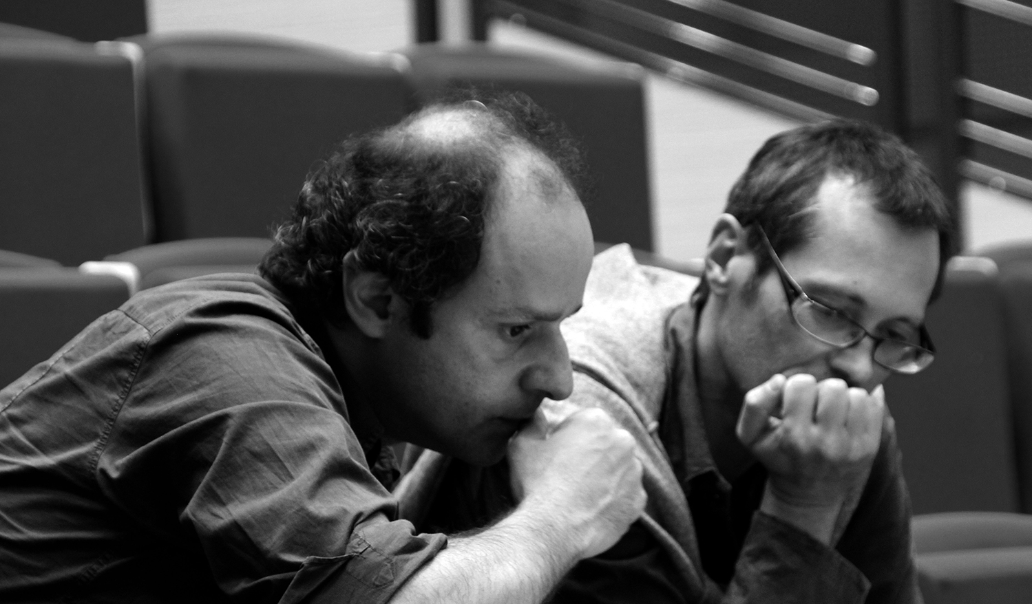 Zad Moultaka et Jean-Marc Aymes (c) Catherine Peillon